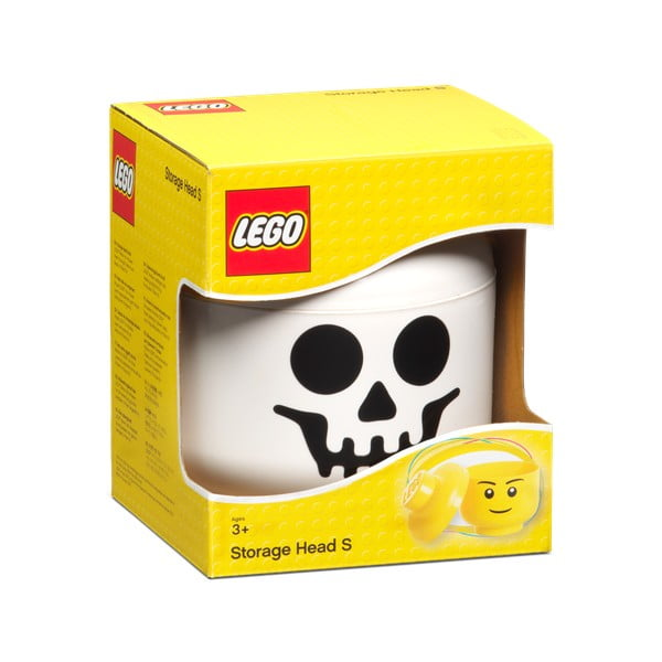Figurină depozitare LEGO® Kostlivec, Ø 16,3 cm