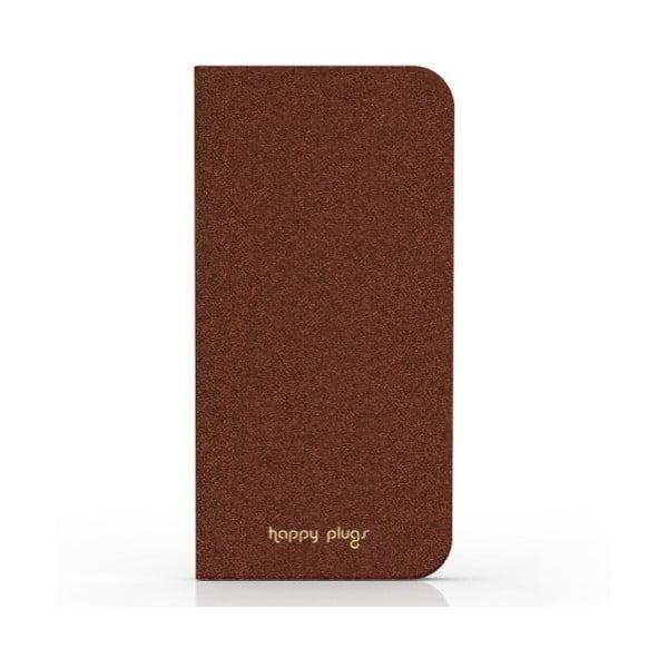 Překlápěcí obal Happy Plugs na iPhone 6, hnědý