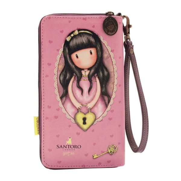 Peněženka na zip s poutkem na ruku Santoro London Secret