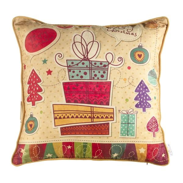 Vianočná obliečka na vankúš Apolena Comfort Surprise, 43×43 cm