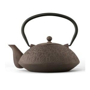 Ceainic din fontă cu infuzor Bredemeijer Yinan 1,2 l, maro - negru