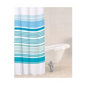 Sprchový závěs Aqua Stripe, 180x180 cm