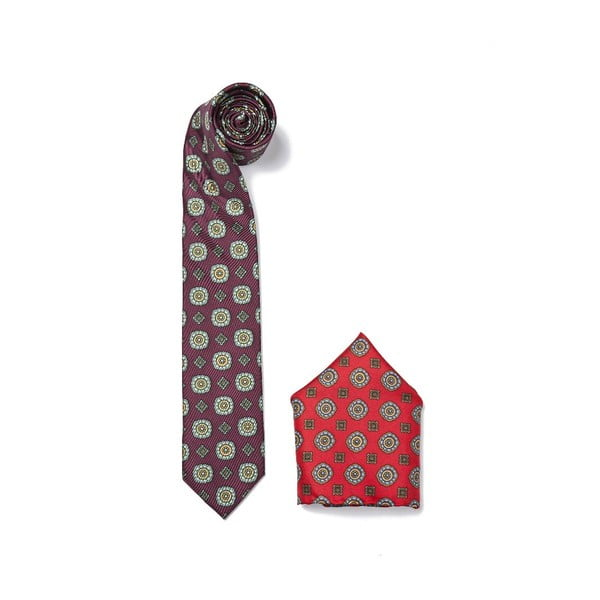 Set kravaty a kapesníčku Ferruccio Laconi 4