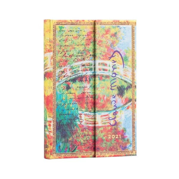 Kalendarz na rok 2021 Paperblanks Monet Letter to Morisot II