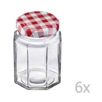 Set 6 borcane din sticlă cu capac Westmark, 190 ml poza