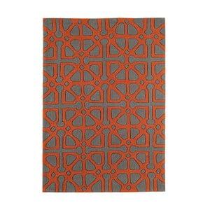 Koberec Asiatic Carpets Harlequin Symbols Orange, 120x170 cm
