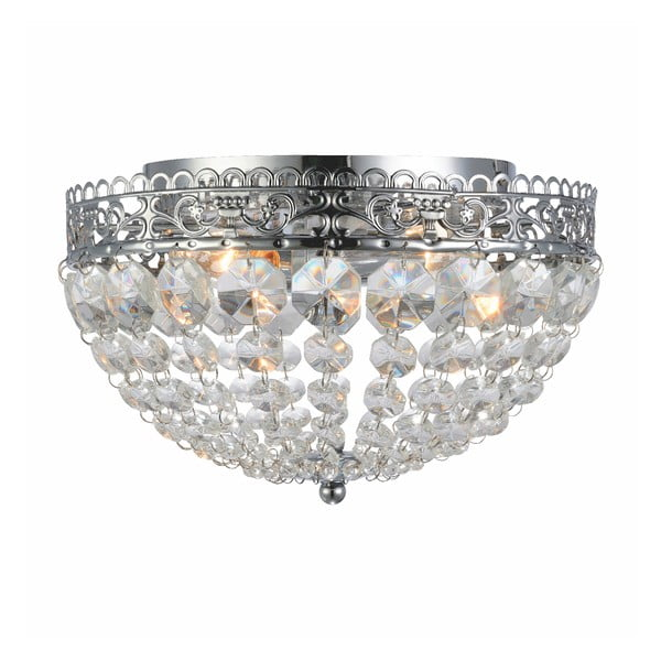 Saxholm ezüstszínű mennyezeti lámpa, ⌀ 27cm - Markslöjd