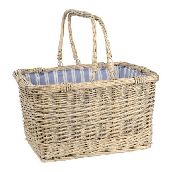 Košík s držadly Willow, 43x33x24 cm