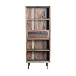 Knihovna z recyklovaného dřeva SOB Cairo