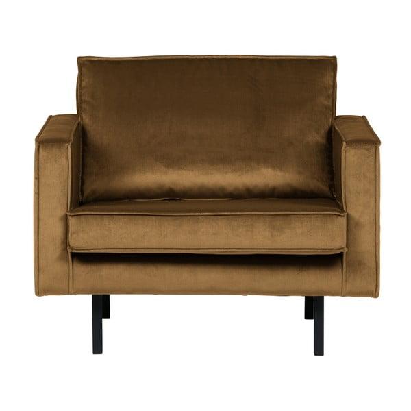 Rodeo Velvet mézsárga fotel - BePureHome
