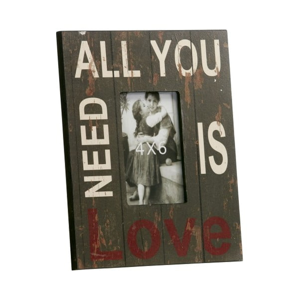 Fotorámeček All you need is love, 23x28 cm