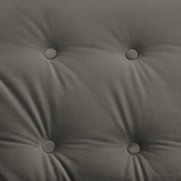Canapea 2 locuri Vivonita Laurel. gri