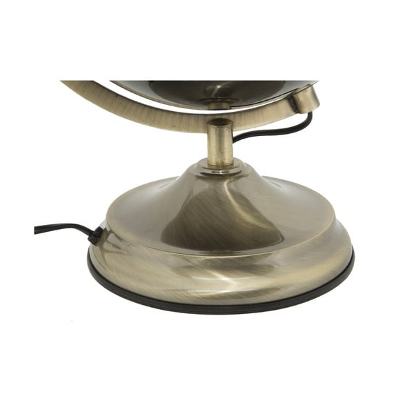 Stolní lampa ve tvaru glogusu Mauro Ferretti Globe Bronze, ø25cm