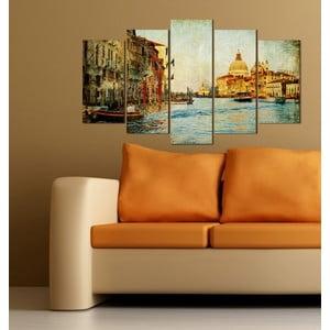 5dílný obraz Venezia
