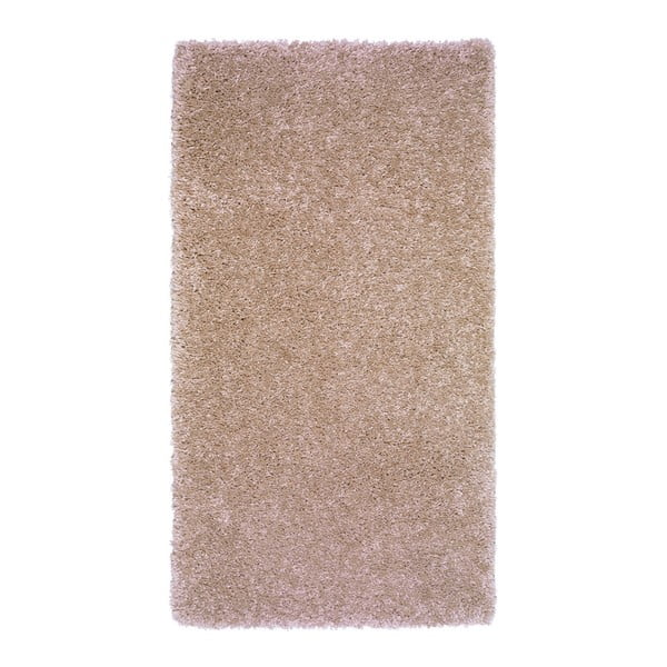 Svetlohnedý koberec Universal Aqua Liso, 57x110cm