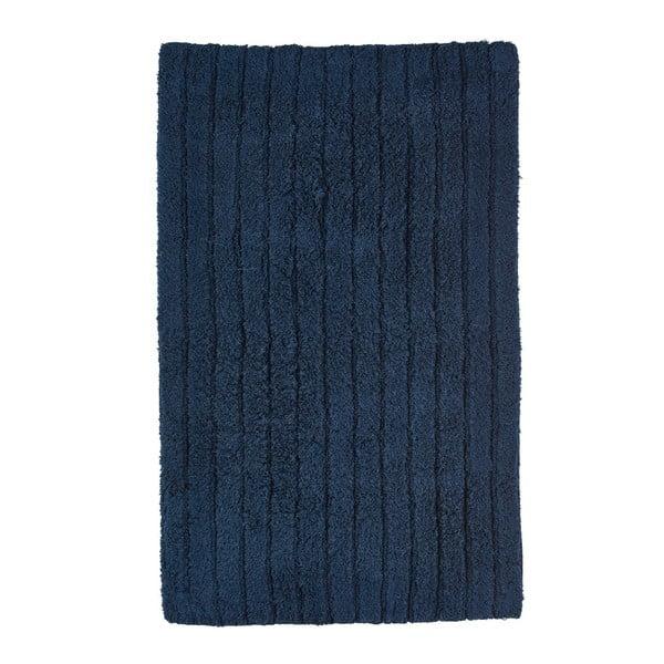 Tmavě modrá koupelnová předložka Zone Prime, 50x80cm