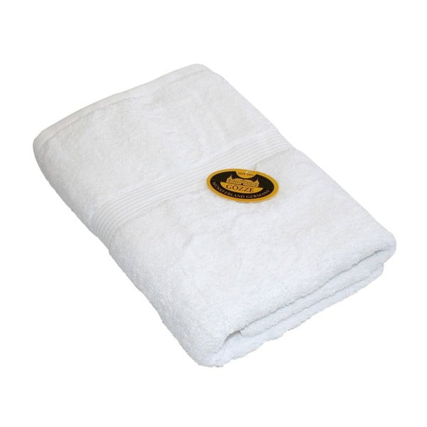 Ručník New York Uni White, 70x140 cm