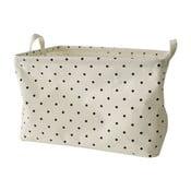 Textilní košík Maiko s malými puntíky