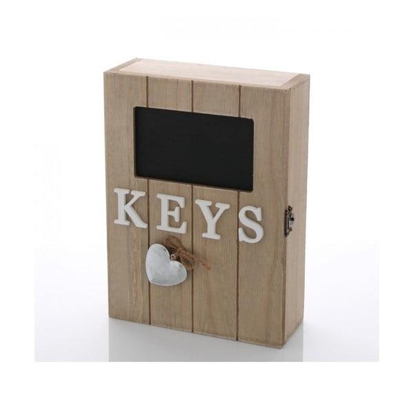 Skříňka na klíče Srdce