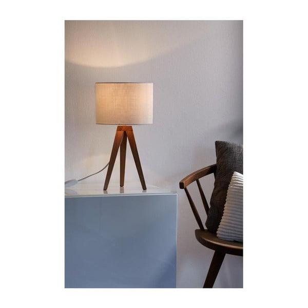 Bílá stolní lampa Markslöjd Kullen, 28cm