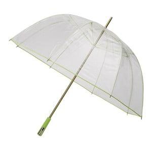 Transparentní deštník Falconetti Lime Green