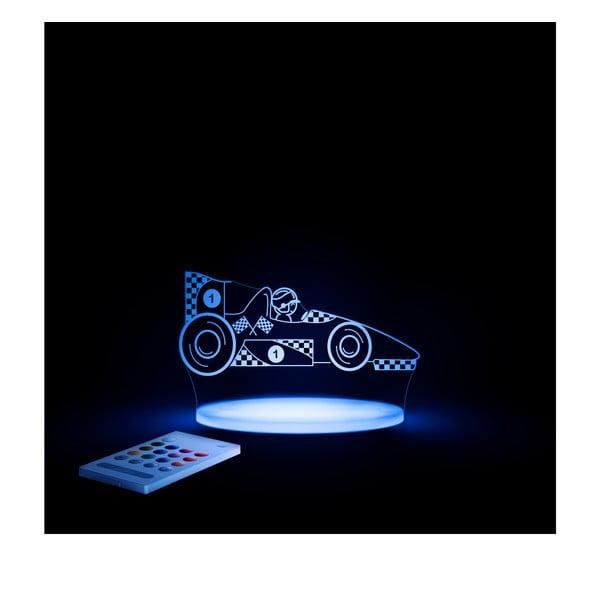 Dětské LED noční světýlko Aloka Race Car