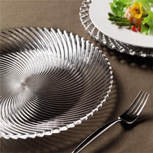 Set 2 dezertních talířů Dancing Stars - Samba, 23 cm