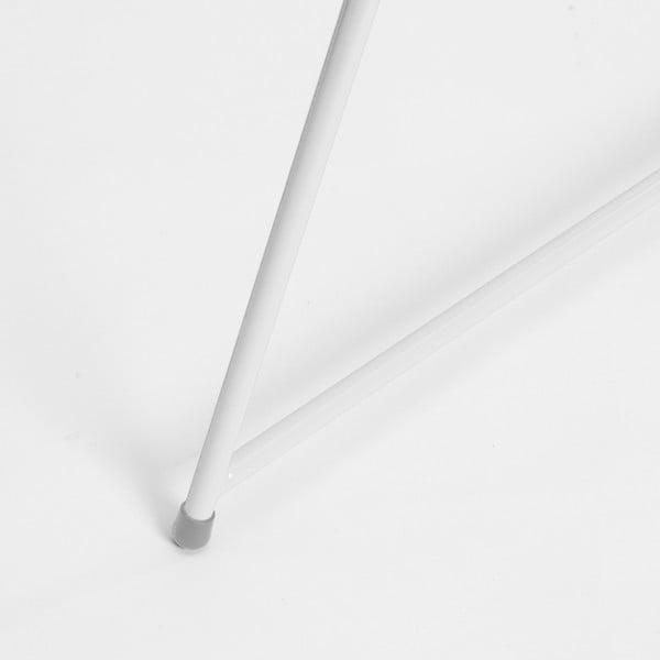 Bílá podnož ke stolu Master & Master Diamond Narrow, 70x55cm