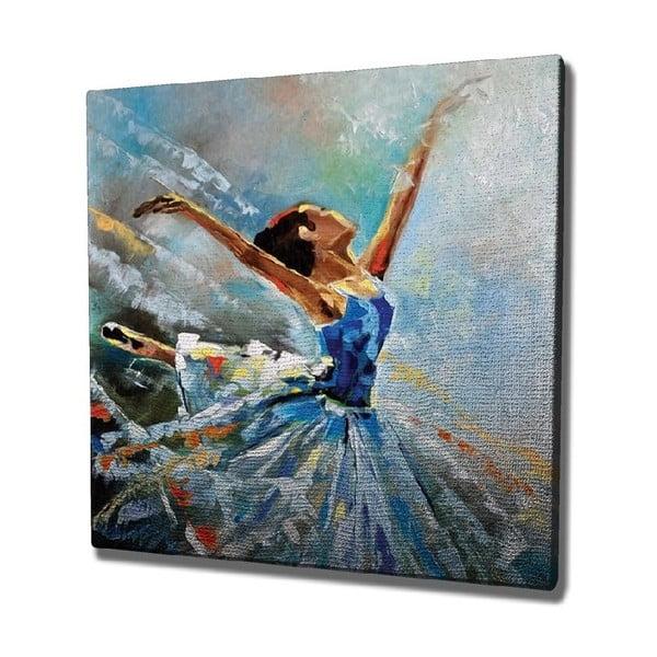Ballet vászon fali kép, 45 x 45 cm