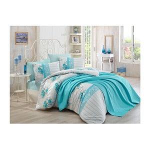 Lenjerie de pat cu cearșaf Waterino, 200 x 220 cm