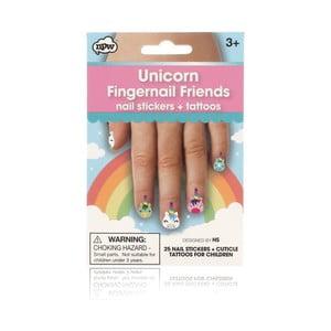Sada nálepek na nehty npw™ Unicorn