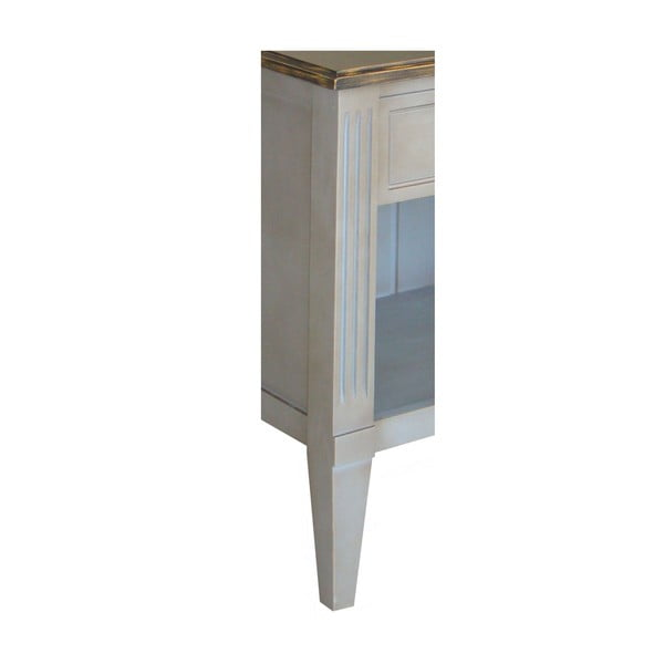 Noční stolek Transilvania Black Top Belgique Grey