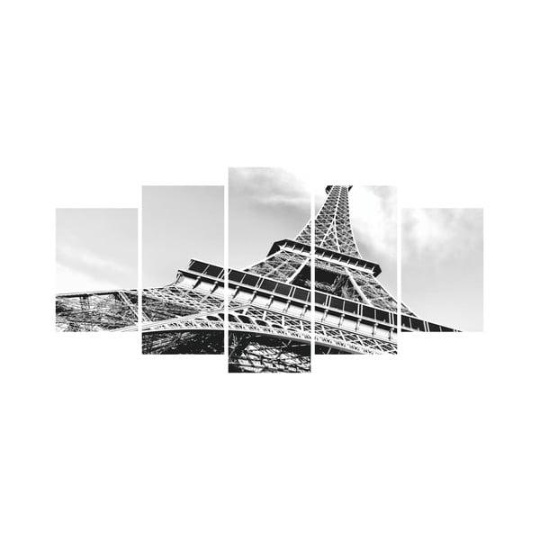 Vícedílný obraz Black&White no. 53, 100x50 cm