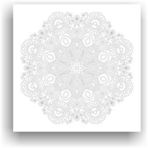 Obraz k vymalování Color It no. 100, 50x50 cm