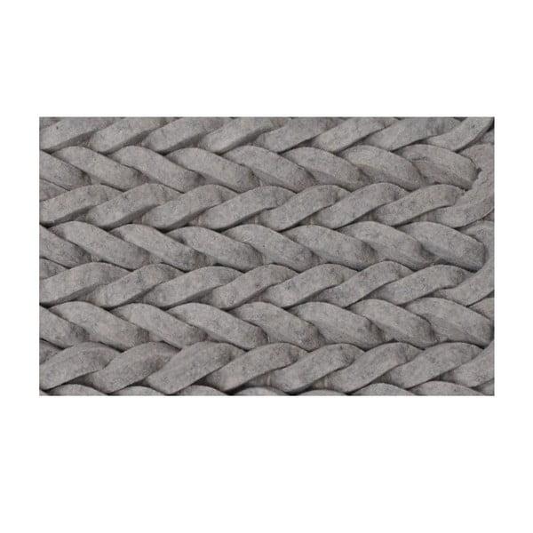 Vlněný koberec Nienke Light Grey 240x170 cm