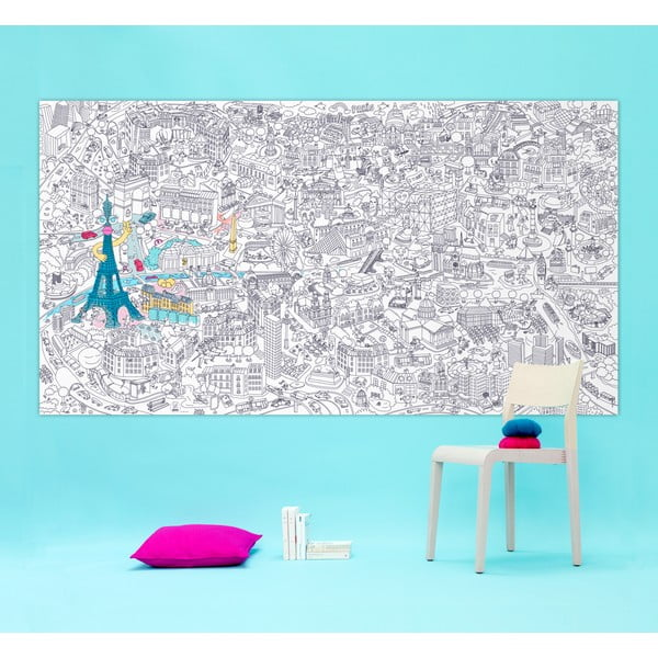 Omalovánka OMY Paris XXL,180x100cm