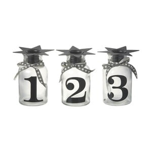 Sada 3 stojanů na svíčku Parlane Numbers