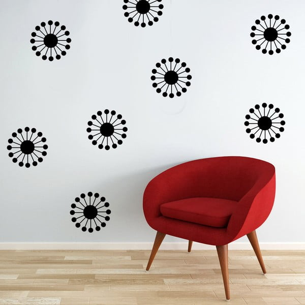 Samolepka na zeď Abstract, 70x50 cm
