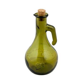 Oțetieră din sticlă reciclată Ego Dekor Di Vino, 500 ml, verde poza