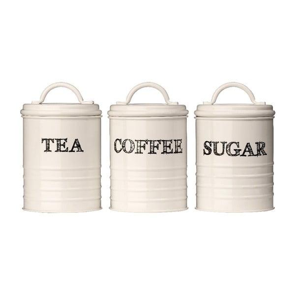 Sketch 3 db-os tea-, kávé- és cukortartó készlet - Premier Housewares
