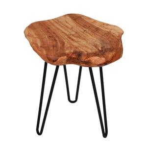 Odkládací stolek s deskou z cedrového dřeva 360 Living Montanio 322