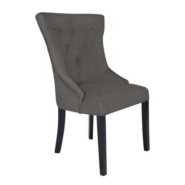 Šedá židle Kooko Home Tango