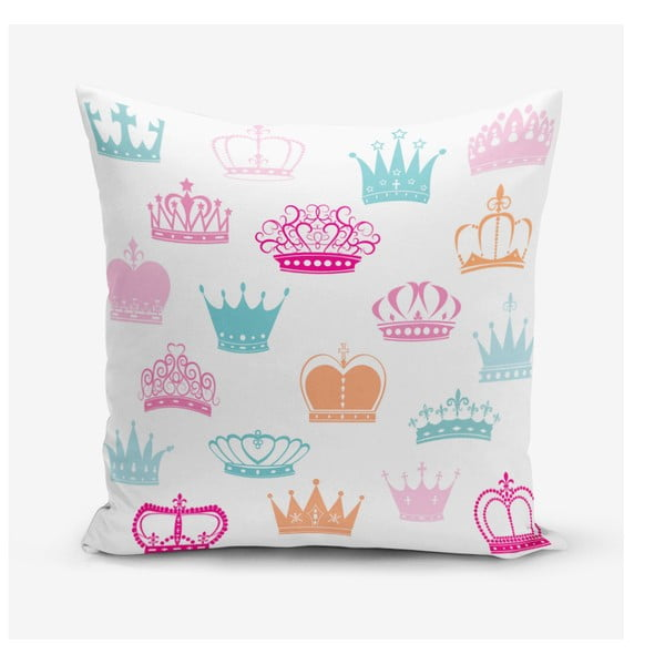 Față de pernă Minimalist Cushion Covers Crown, 45 x 45 cm