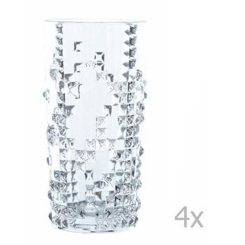 Set 4 pahare din cristal Nachtmann Punk Long Drink, 390 ml de la Nachtmann
