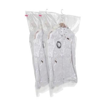 Set 2 saci cu vid de agățat pentru haine Compactor Espace, 70 x 105 cm imagine