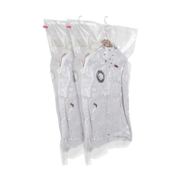 Zestaw 2 wiszących worków próżniowych na ubrania Compactor Espace, 70x105 cm