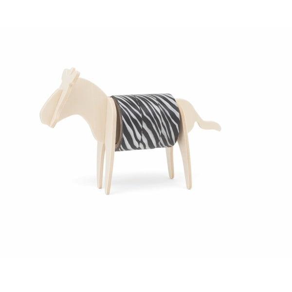 Bandă adezivă cu suport în formă de zebră Luckies of London Zebra