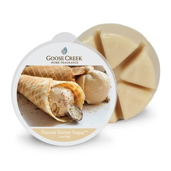 Ceară parfumată pentru lampă aromaterapie Goose Creek Peanut Butter Sugar, 65 ore de ardere imagine