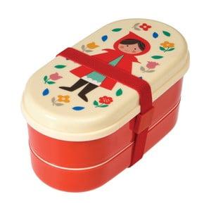 Svačinový box s příborem s motivem Červené Karkulky Rex London Red Riding Hood