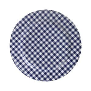 Set tří talířů Sarah, modrý